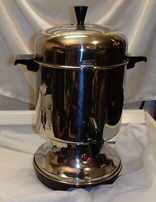 Farberware Electric L1200 Automatic Coffee Percolator Urn Dispenser 22-cup Maker