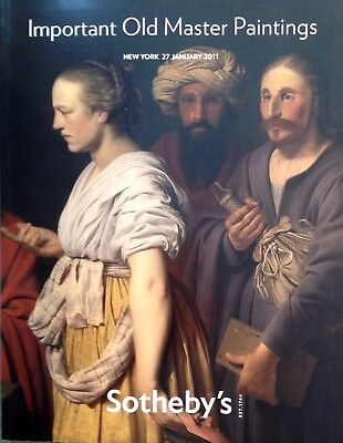 Sotheby's Catalog IMPORTANT OLD MASTER PAINTINGS 1/2011 New York Sale # N08712