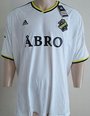 Men AIK Stockholm away football size XXXL Adidas BNWT
