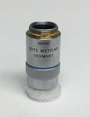 Leitz Wetzlar 50x0.85 Npl Fluotar Microscope Objective 569196