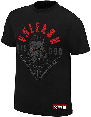 WWE ROMAN REIGNS Unleash The Big Dog OFFICIAL AUTHENTIC T-SHIRT