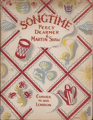 Book of Rhymes, Songs, Games, Hymns Children Curwen London Dearmer 1915 HL2.618