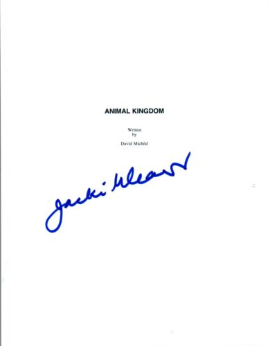 Jacki Weaver Signed Autographed ANIMAL KINGDOM Full Movie Script COA