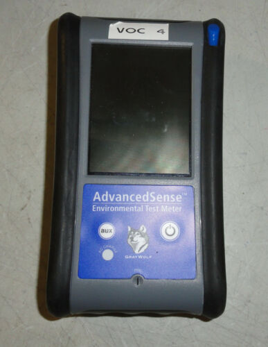 Gray Wolf Advanced Sense Environmental Test Meter with Accessories