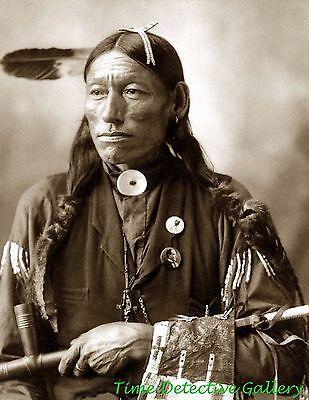 "Native American Arapaho Man ""Little Bird"" - 1898 - Historic Photo Print"