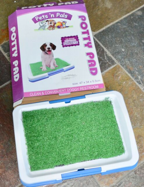 Dog Potty Pad Tray Indoor Or Balcony Toilet