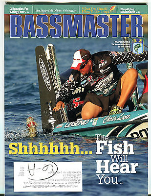 Bassmaster Magazine March 2016 The Fish Will Hear You Ex 031716Jhe