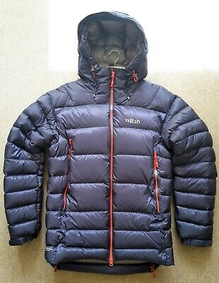 RAB Positron Down Jacket Men's Size M, Navy, 800 Fill Hydrophobic Down for sale  Shipping to Ireland