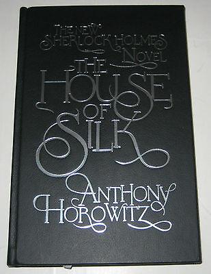House Of Silk Anthony Horowitz Signed 1st Leather-bound Limited Sherlock Holmes