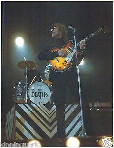 Rare Beatles Photo John Lennon On Stage With The Beatles London 1966