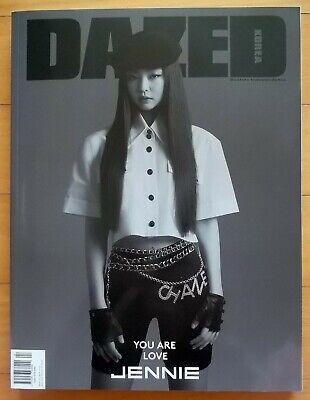 BLACKPINK JENNIE NINEPERCENT Lin Yanjun HWASA-whole magazine/Dazed Korea/2019