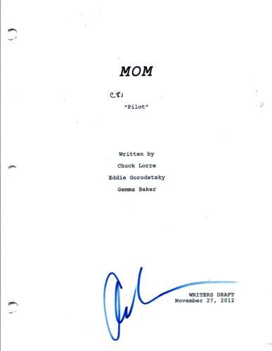Chuck Lorre Signed Autographed MOM Pilot Episode Script COA VD