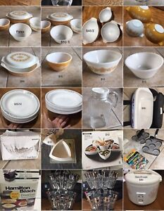 Moving sale,lot of kitchen ware and household items