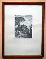 Giuseppe Mario D'amico Serigrafia Su Seta Da China Roma Ss. Giovanni E Paolo -  - ebay.it