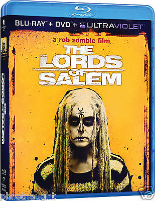 THE LORDS OF SALEM BLU-RAY / DVD - HORROR - ROB ZOMBIE