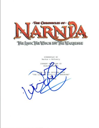 William Moseley Signed Autographed THE CHRONICLES OF NARNIA Movie Script COA VD