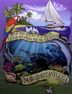 RARE Jimmy Buffett Margaritaville Son Of A Sailor Photo Print Poster 11x14