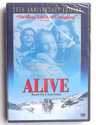 Alive 1993 Andes Airplane Crash Survivors Movie Dvd Ethan Hawke John Malkovich