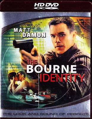 The Bourne Identity  Hd Dvd  2007  New