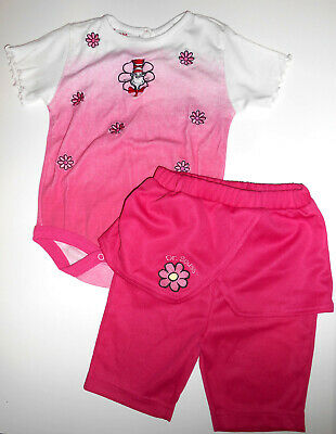 DR SEUSS Girls 24Mos Embroidered Outfit Cat In The Hat Top Romper & Skirt Pants](Dr Seuss Outfit)