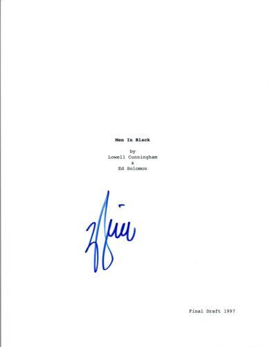 Will Smith Signed Autographed MEN IN BLACK Movie Script COA VD