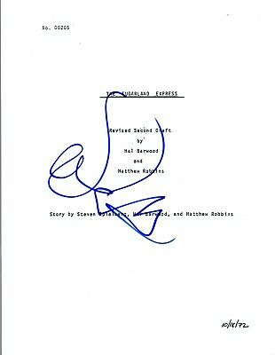 Goldie Hawn Signed Autographed The Sugarland Express Full Movie Script Coa