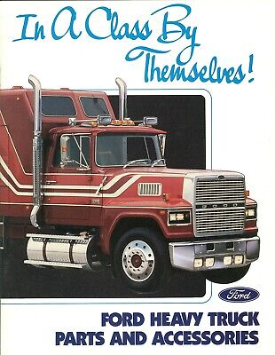 1988 Ford Heavy and Light Truck Parts and Accessories Brochure - Mint!