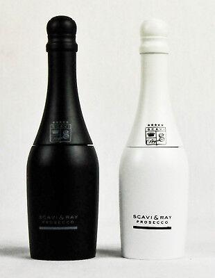 Scavi & Ray, Echtholz Salz und Pfeffermühle im Flaschendesign Set