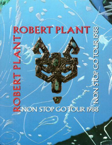 ROBERT PLANT 1988 NON STOP GO TOUR CONCERT PROGRAM BOOK-LED ZEPPELIN-NM/MT