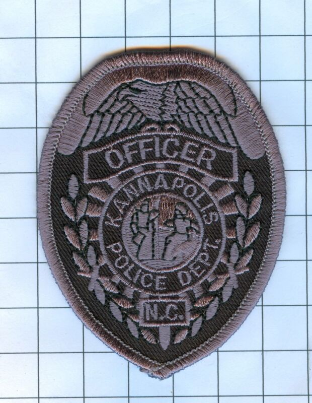 Police Patch Embroidered Mini-Patch  - North Carolina - Officer Kanapolis