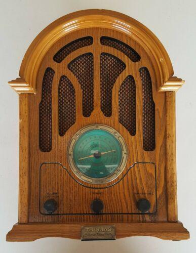 Vintage Thomas Collectors Edition Radio AM/FM Cassette Model 1934