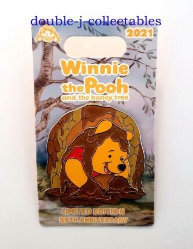 2021 Disney Winnie the Pooh and the Honey Tree 55th Anniversary Honeycomb LE Pin