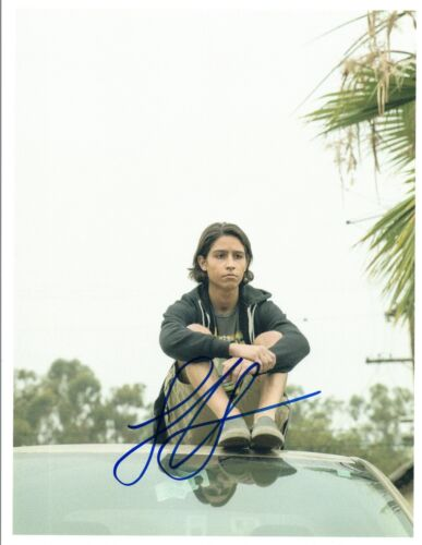 Lorenzo James Henrie Signed Autographed 8x10 Photo Fear The Walking Dead COA VD