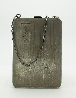 1920s Style Purses, Flapper Bags, Handbags 1920's ELGIN AM MFG CO .925 Sterling Silver Women's Coin Purse - FREE SHIPPING $119.99 AT vintagedancer.com
