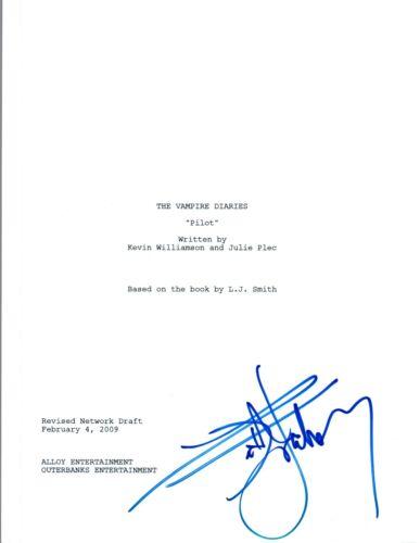 Kat Graham Signed Autographed THE VAMPIRE DIARIES Pilot Script COA VD