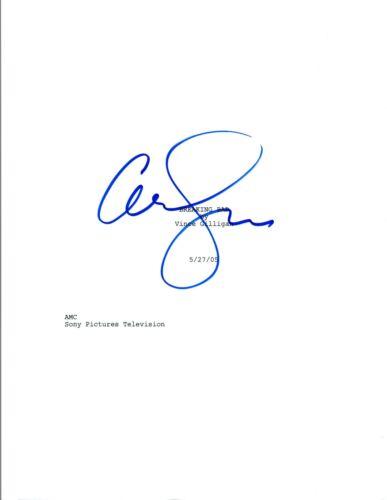 Anna Gunn Signed Autographed BREAKING BAD Pilot Episode Script COA AB
