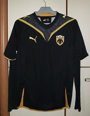 AEK Athens 2009 - 2010 Away football shirt jersey Puma long sleeve size S image