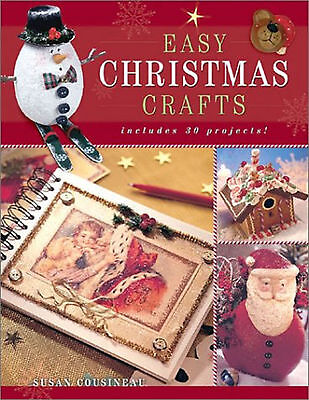 Easy Christmas Crafts Cousineau
