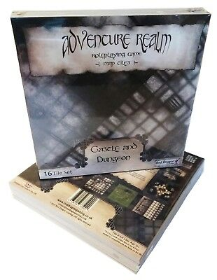 Adventure Realm RPG Map Tiles - Castle and Dungeon Set