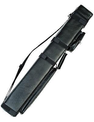 3X6 Hard Pool Cue Billiard Stick Carrying Case Black 3 x 6