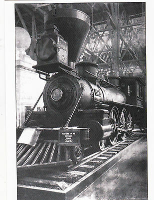 Postcard Baltimore   Ohio Railroad Steam Locomotive    Classic