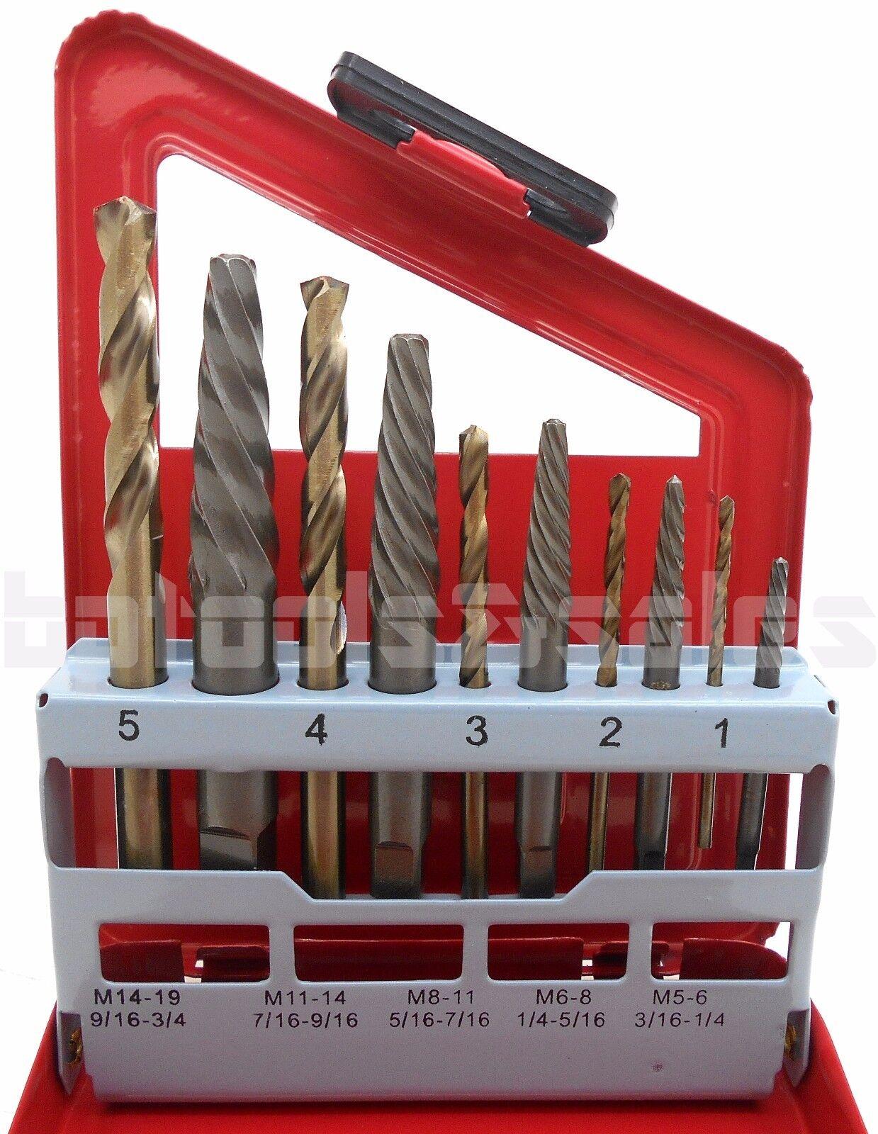 screw extractor right drill bit