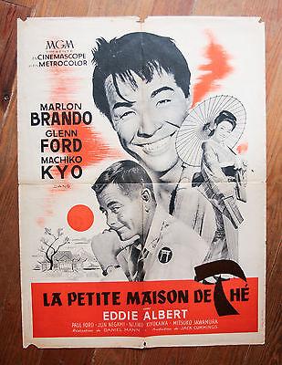 * Affiche originale de sortie du Film > LA PETITE MAISON DE THE 60X80 cm