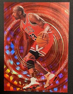Michael Jordan 1999 - 2000 SPx SPXTREME  #X1, Chicago Bulls