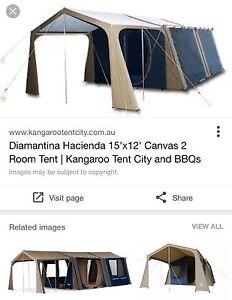 Diamantina Hacienda 2 room tent Cleveland Redland Area Preview