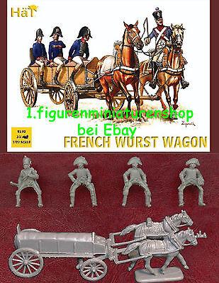 1:72 FIGUREN 8102 FRENCH WURST WAGON - HÄT