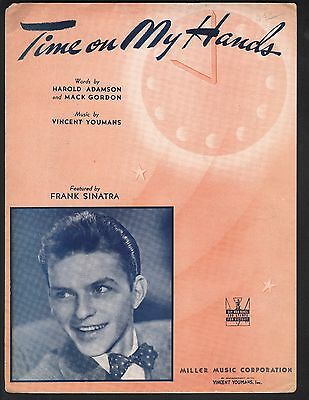 Time On My Hands Frank Sinatra Sheet Music