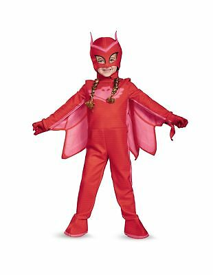 Owlette Deluxe Toddler PJ Masks Jumpsuit with Attached Boot Covers Gloves SM 2T