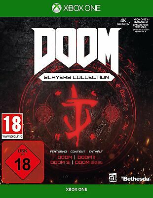 DOOM Slayers Collection (Xbox One) In Stock new & Sealed Free UK P&P