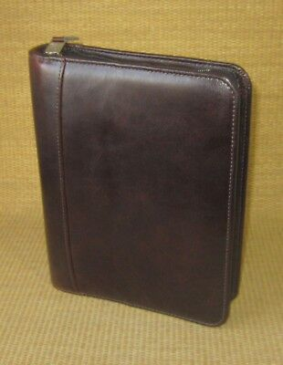 Classic 1.5 Rings Dark Brown Sim. Leather Franklin Covey Plannerbinder